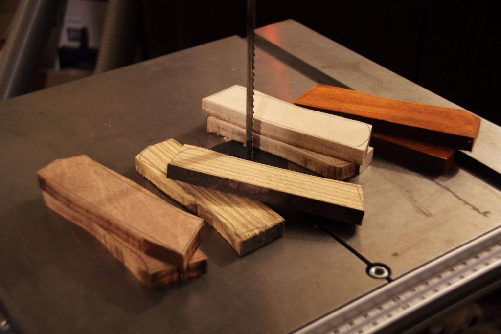 Drewno do noży